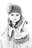 Snow baby Stock Image