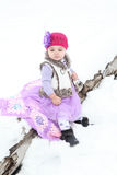 Snow baby Stock Photography
