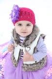Snow baby Stock Photo
