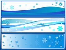 Snow background. Stock Image