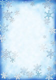 Snow background. A snowy background for your christmas letters stock illustration