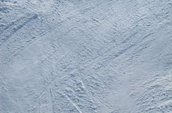 Snow background. On ski piste Royalty Free Stock Image