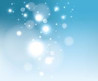 Snow background. Blue snow background, EPS10 file with transparency effects Stock Images