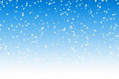 Snow background royalty free illustration
