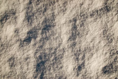 Snow background. High detailed icy snow surface Stock Photography