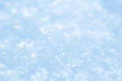 Snow. Background, blue toned image Stock Photo