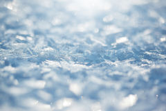 Snow background, blue toned Royalty Free Stock Image