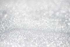 Snow background  bokeh - shallow focus, space for text. Snow background - shallow focus, space for text Royalty Free Stock Photography