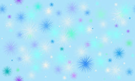 Snow background. Ector abstract background with snowflakes stock illustration