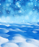 Snow background Royalty Free Stock Image