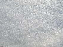 Snow background. Background of Fresh Snow.Snow texture.Real shining snow Stock Photography