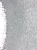 Snow background, frozen background. Snowing background, snowing texture, white snow, frozen background near the lake Stock Photography