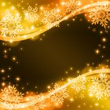 Snow background. Glittering snow background for celebration Stock Photos