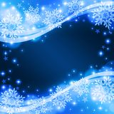 Snow background. Glittering snow background for celebration Royalty Free Stock Photo