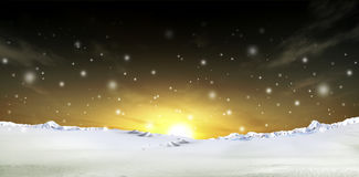 Snow Background Royalty Free Stock Photo