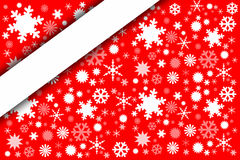 Snow background New Year style. Stock Photo