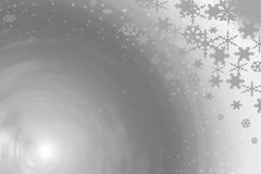 Snow background shapes Royalty Free Stock Photo