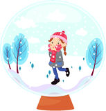 Snow ball Royalty Free Stock Photography