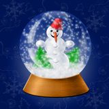 Snow ball royalty free stock images