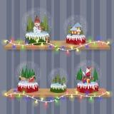2017.12.20_snow ball. Christmas Snow ball. Winter vector illustration Stock Illustration