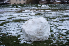 Snow ball royalty free stock photo