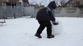 Snow Ball Snowman for Rolling stock video
