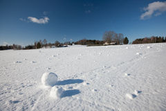 Snow balls Stock Images