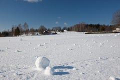 Snow balls Royalty Free Stock Photos