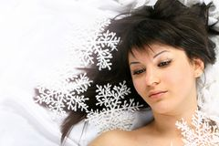 Snow Beauty Royalty Free Stock Images