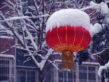 Snow in Beijing Stock Photo