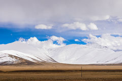 Snow berg. In Tibet, China Royalty Free Stock Photo