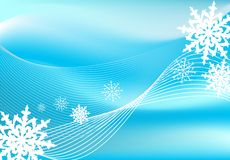 Snow blizzard background Stock Photo