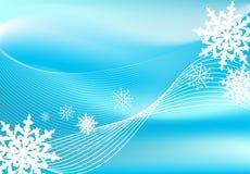 Snow blizzard background Stock Photo