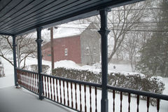 Snow blizzard Royalty Free Stock Photos