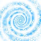 Snow blizzard swirl. Winter background Royalty Free Stock Photo