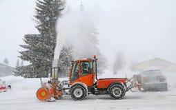 Snow_blower Imagens de Stock