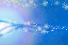 Snow blue abstract background. Snow flake blue abstract background Stock Photo