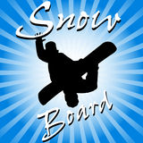 Snow Board Royalty Free Stock Photography