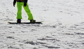 Snow Boarder Royalty Free Stock Photography