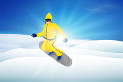 Snow Boarding Stock Images