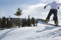 Snow Boarding Vail Resorts, Beaver Creek, Eagle County, Colorado Stock Image