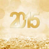 2015 snow and bokeh  background. 2015 snow and bokeh square background Royalty Free Stock Images