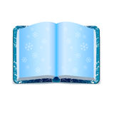 Snow book Stock Image