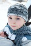 Snow boy Royalty Free Stock Photos