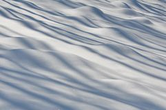 Snow bumps Stock Photos