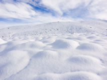 Snow Bumps Stock Image
