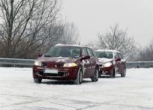 Snow Calamity Stock Photo