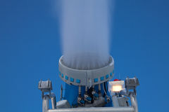 Snow cannon Royalty Free Stock Photography