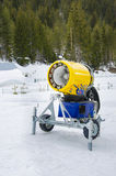 Snow Cannon Machine Royalty Free Stock Photography