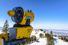 Snow cannon, Poiana Brasov Stock Images